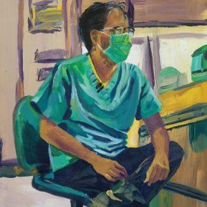 Raj, Giclee on Canvas