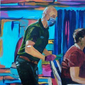 Mariusz Giclee on Canvas
