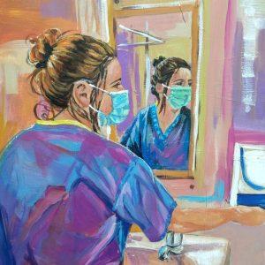 Samantha, Giclee on Canvas