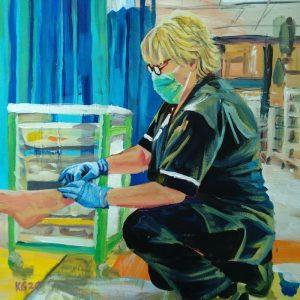 Ann C, Giclee on Canvas
