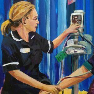 Lisa, Giclee on Canvas