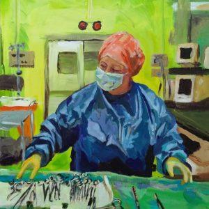 Lynn E, Giclee on Canvas