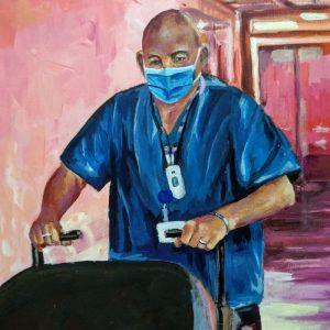 Bob, Giclee on Canvas