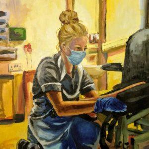 Rianna, Giclee on canvas