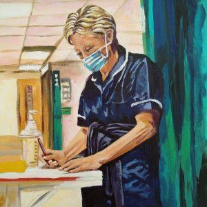 Helen, Giclee on Canvas