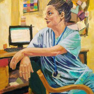 Louisa G, Giclee on Canvas