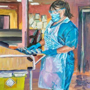 Nicola H, Giclee on canvas