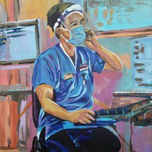 Christian, Giclee on Canvas