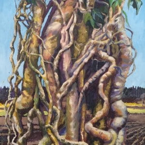 Grand Entwined Ivy 3 large  Original