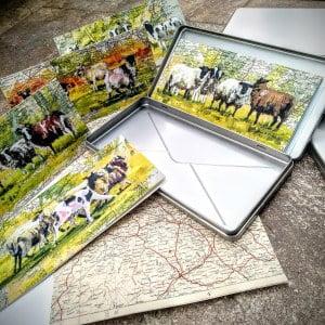 Virtual Vending Machine- Sheep Correspondance cards